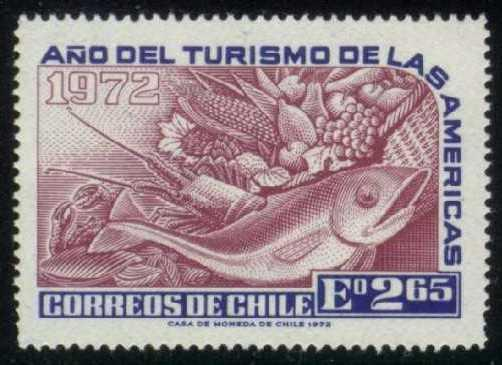 Chile #431 Tourism Year of the Americas, Unused (0.40)