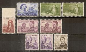 Australia 1963 Navigators MNH Cat£212