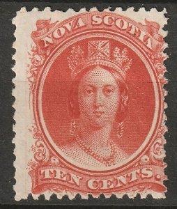 Nova Scotia 1860 Sc 12 MH*