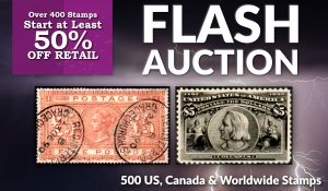 Flash Stamp Auction #101