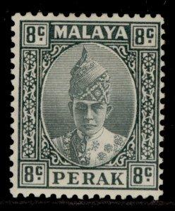 MALAYSIA - Perak GVI SG110, 8c grey, M MINT. Cat £40.