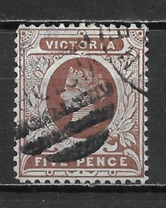 Victoria, 224, Queen Victoria Single, Used (z2)