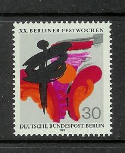 Germany Berlin 9N302 Set MNH Symbols of Dance Theater Art (C