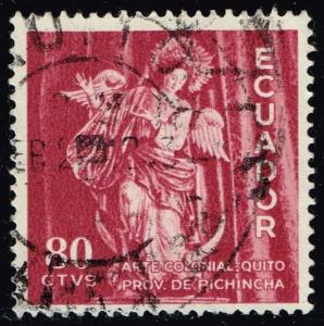 Ecuador #655 Virgin of Quito; Used (0.25)