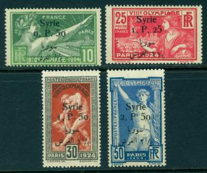 OLYMPIC GAMES French Colonies - SYRIA - complete set  Sc# 166-169  mint MLH