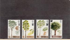 BRITISH HONDURAS 283-286 MINT 2014 SCOTT CATALOGUE VALUE $6.40