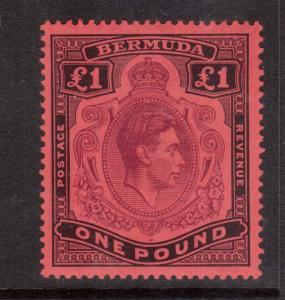 Bermuda #128a VF Mint