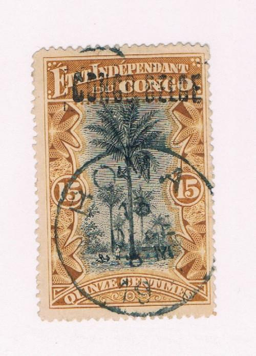 Belgian Congo  #33a Used Palms (B0097)