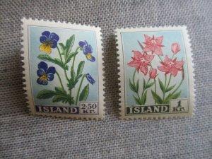Iceland, Scott#309-310, MNH