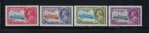 SOLOMON ISLANDS SCOTT #60-63 1935 GEORGE V SILVR JUBILEE - MINT LIGHT  HINGED