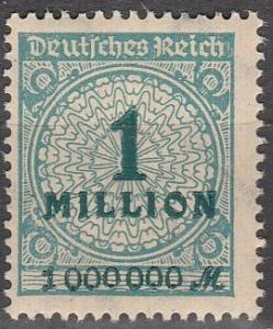 Germany #281  MNH F-VF (SU3423)