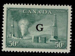 CANADA GVI SG O188, 50c green, M MINT. Cat £20.