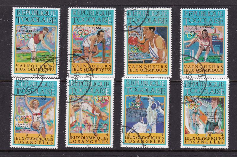 Togo the 1984 Olympics set used