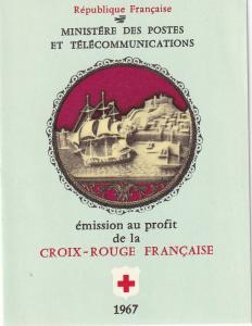 France #B409a Red Cross Booklet  CV $3.50 Z47