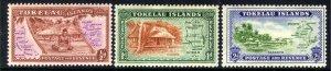 Tokelau Islands 1948 KGV1 Set NZ Administration MM SG 1 - 3 ( K313 ) )