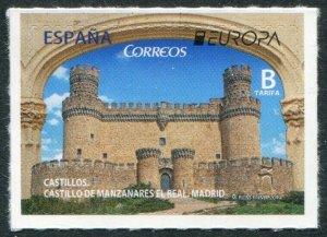 HERRICKSTAMP NEW ISSUES SPAIN Sc.# 4196 EUROPA 2017 Castles Self-Adh.