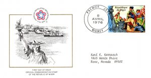 Niger, Worldwide First Day Cover, Americana