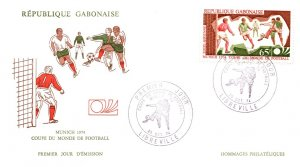 Gabon, Worldwide First Day Cover, Sports