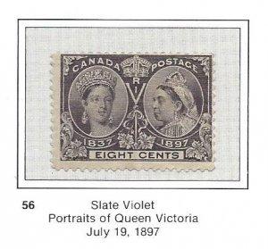 Canada 56 OG Pretty Stamp OG CV$130