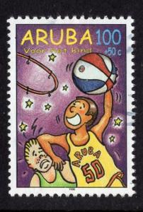 Aruba   #B55   used  1998 child welfare 100c