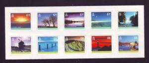 Guernsey Sc 742 2001 Isand Views stamp sheet mint NH