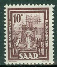 Saar - Scott 204 MNH (SP)
