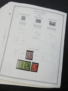 EDW1949SELL : USA Nice, all Mint Starter collection on pages between 1909-1961.