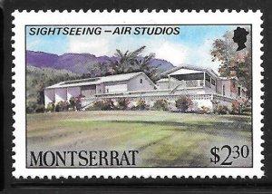 Montserrat 642: $2.30 Sightseeing – AIR Studios, MH, VF