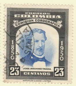Colombia 1953 23c Fine Used A8P55F103