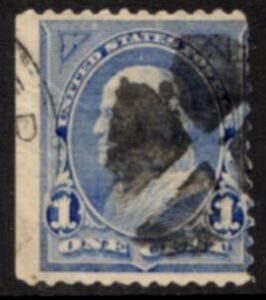 US Stamp #246 - Benjamin Franklin First Bureau Regular Issue