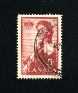 Canada  386  -2   used VF PD 1959