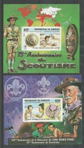 1981 Djibouti African Boy Scout Conference SS