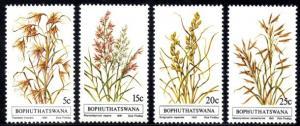 Bophuthatswana - 1981 Indigenous Grasses Set SG 80-83