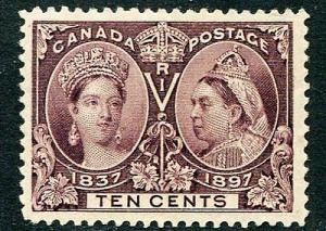 Canada  #57 Mint VF+  -   Lakeshore Philatelics