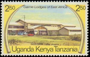 1975 Kenya, Uganda, Tanzania #300-303, Complete Set(4), Never Hinged