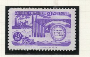 Turkey 1954 Early Issue Fine Mint Hinged 30k. NW-18198