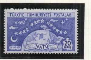 Turkey 1954 Early Issue Fine Mint Hinged 20k. NW-18194