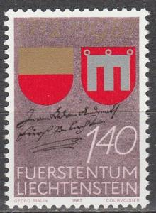 Liechtenstein #871  MNH  (S6042)