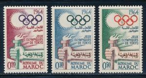 Morocco - Tokyo Olympic Games MNH Set (1964)