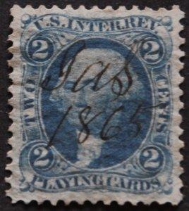 DYNAMITE Stamps: US Scott #R11c
