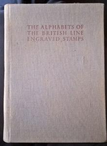 The Alphabets of the British Line Engraved Stamps 1936 Penny Black Red freepost