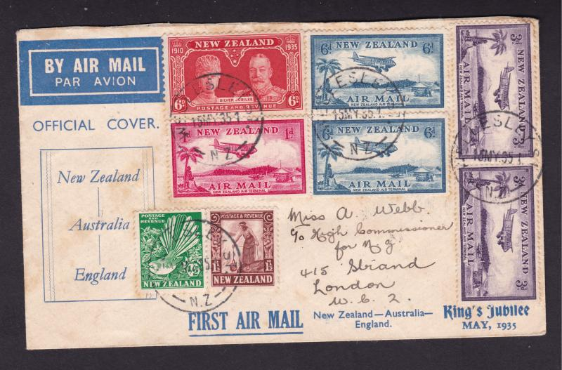 New Zealand a FFC from 1935