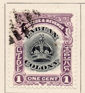 Labuan 1902 Early Issue Fine Used 1c. 206127