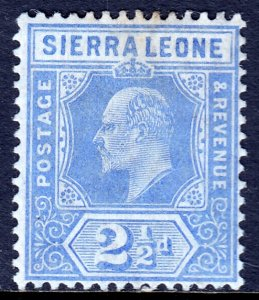 Sierra Leone - Scott #94 - MH - Pencil on reverse, toning spot - SCV $4.00