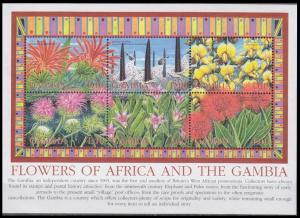 2002 Gambia 4814-4819KL Flowers 10,00 €