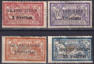 Lebanon #10-13 Unused CV $38.50  (Z3777)