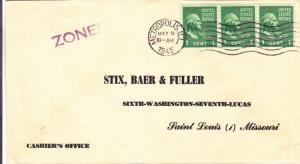 1945, Metropolis, IL to St. Louis, MO, Prexie, See Remark (26806)