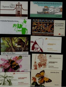Portugal Azores 10 MNH booklets