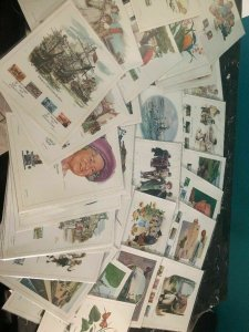 Awesome Collection Lot Of 38 United Kingdom First Day Issue Covers