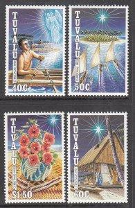 Tuvalu 621-624 Christmas MNH VF